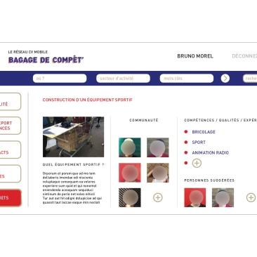 LÀBA, Bagage de compèt, mes projets du réseau CV mobile, 2017